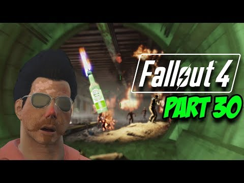 TUNNEL TERROR! - Fallout 4 Survival Mode | Part 30