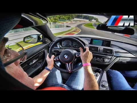 BMW M4 Competition POV Spa Francorchamps Onboard