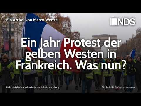 Ein Jahr Protest der gelben Westen in Frankreich. Was nun? | Marco Wenzel | 06.11.2019