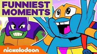 Rise of the TMNT's Best LOL Moments of the Latest Episodes! 🤣 | Nick