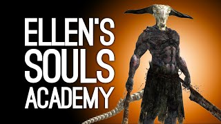 Playing Dark Souls for the First Time! Soulsborne Noob Hunts the Capra Demon - Ellen's Souls Academy