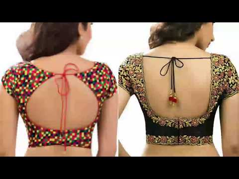 Back Neck Designs, Blauj Dizain, ब्लाउज डिजाइन, Blauj Dizain Image, Latest Fashion