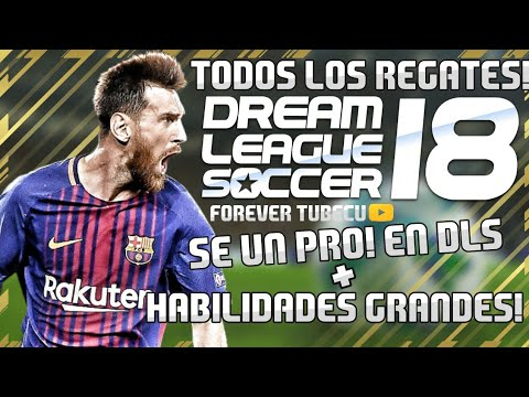 TODOS LOS REGATES DE DREAM LEAGUE SOCCER 2018 SE UN PRO!+TRUCOS