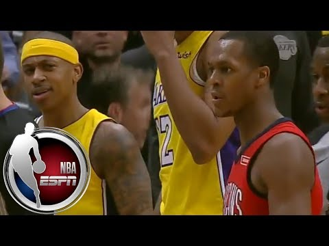 Isaiah Thomas and Rajon Rondo ejected after getting tangled up off the ball | ESPN