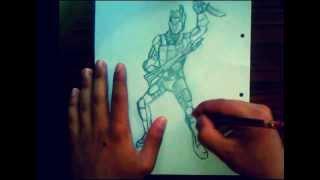 WARFACE : ART : рисунок москита(привет всем любителям WARFACE...это видео о костюме для штурмовика - москит !!!! и если вам понравится видео я..., 2013-07-24T15:48:13.000Z)