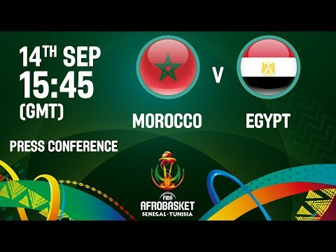 Morocco v Egypt - Press Conference