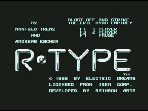 R-Type / C64 Intro Sound