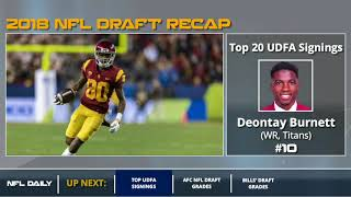 UDFA Tracker: The Top 20 Undrafted Free Agent Signings After The 2018 NFL Draft