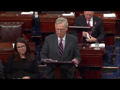 Thumbnail: Sen. McConnell Refuses to Let Sen. Warren Speak About Attorney General Nominee Sessions