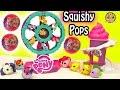 Mlps Squishy Pops My Little Pony Ferris Wheel Display Set & Surprise Blind Bag Balls video