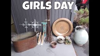 Vintage Shopping Haul & Girls Day With Linda's Pantry