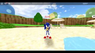 Sonic the hedgehog in SMO? (Roblox mario fangame)