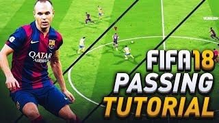 Fifa 18 passing tutorial! how to score using through balls in attacking situations!