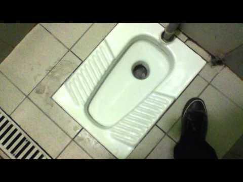 "ITALY TOILET 17 ="" ROCA & POZZI GINORI Squat Toilets on Interesting HL Arrangment"""