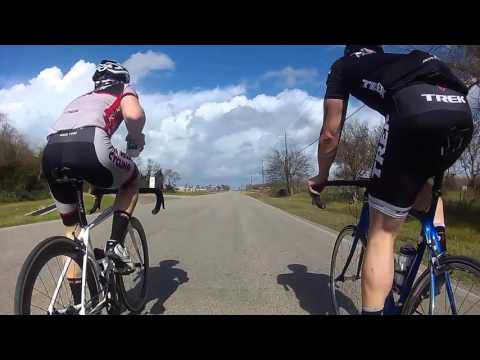 Road Cycling to Texas City, Texas  - 53 Mile ride