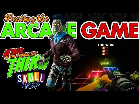 BEATING the ARCADE GAME! Skull Hop the ULTIMATE Guide pt 5 (Attack of the Radioactive Thing)