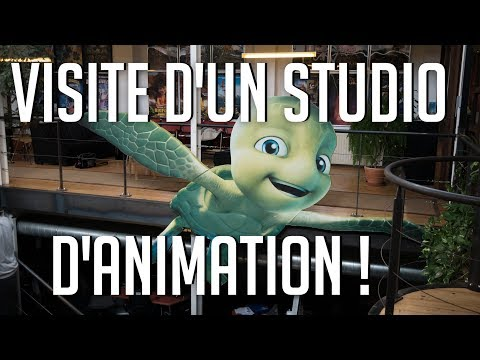 Visite d'un Studio d'Animation !