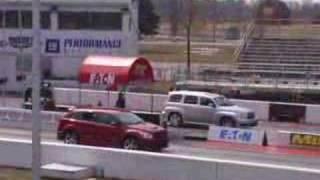 Dodge Caliber SRT4 vs Chevy HHR  2.0 Turbo