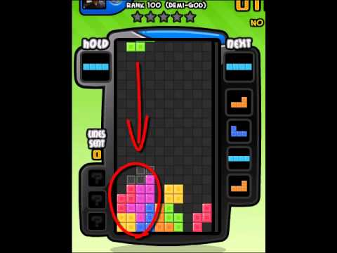 Best Tetris Battle T-Spin Tutorial Ever! Step by Step! Short and to the  Point! (Part 1)