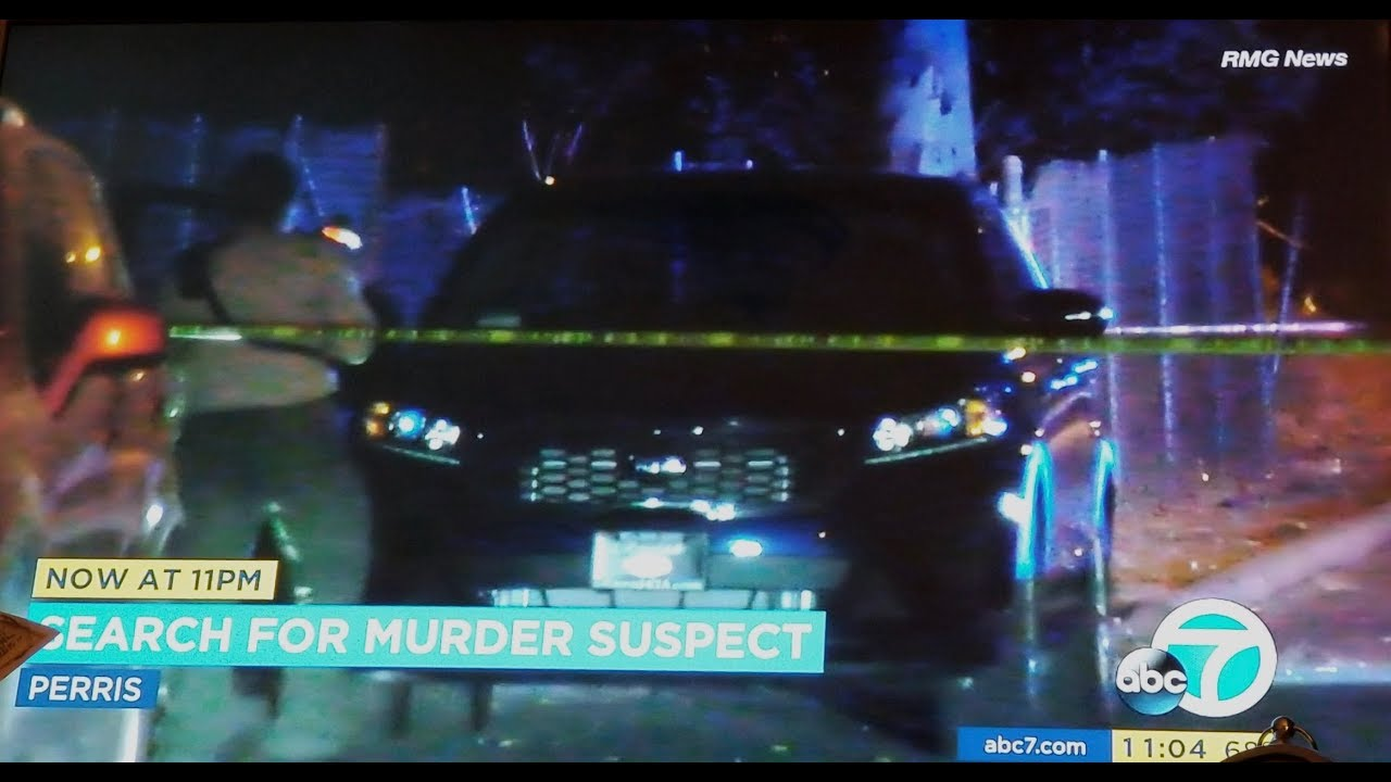 Perris: Search for Homicide Suspect After Man Found Shot Dead in Car