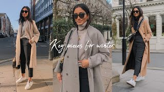 KEY PIECES FOR WINTER | LOOKBOOK 2020