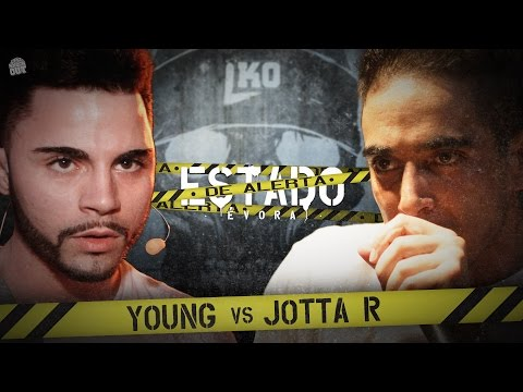 Liga Knock Out / EarBox Apresentam: Young vs Jotta R (Estado de Alerta)