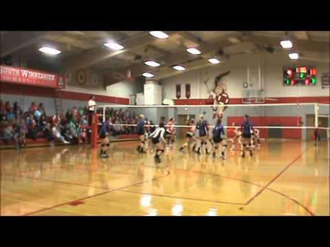 Lily Winters Setter/Libero Footage, Kee High School Class of 2016