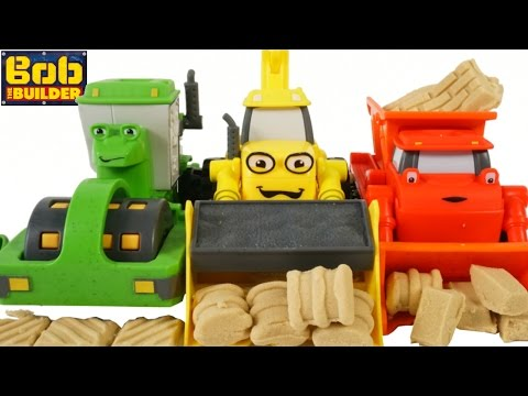 BOB the BUILDER MASH AND MOLD TOYS SCOOP MUCK ROLLEY CONSTRU