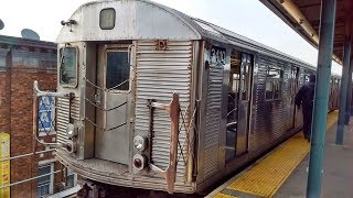 ᴴᴰ R32 A Train RFW Footage - From Hoyt Schermerhorn to Lefferts Blvd and Back