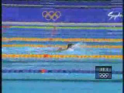 Swimming Disqualification - Sydney olympics