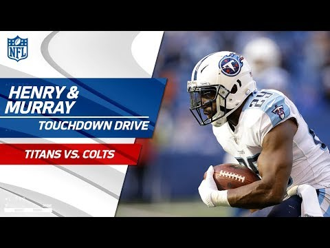 Henry Powers Tennessee Downfield & Murray Caps Off Big TD Drive! | Titans vs. Colts | NFL Wk 12