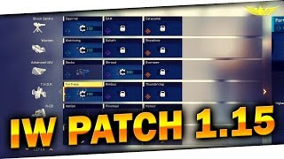 🐧 IW Patch 1.15 | Nowe Bronie, jej warianty i jak je odblokować!