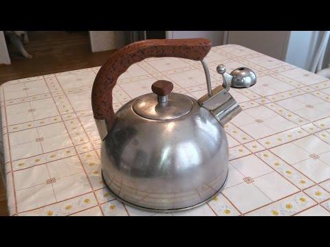 Как легко удалить накипь в чайнике