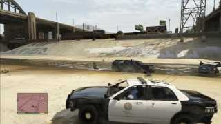 GTA 5 Epic Five Star Wanted Police Rampage/Escape [NO CHEATS]