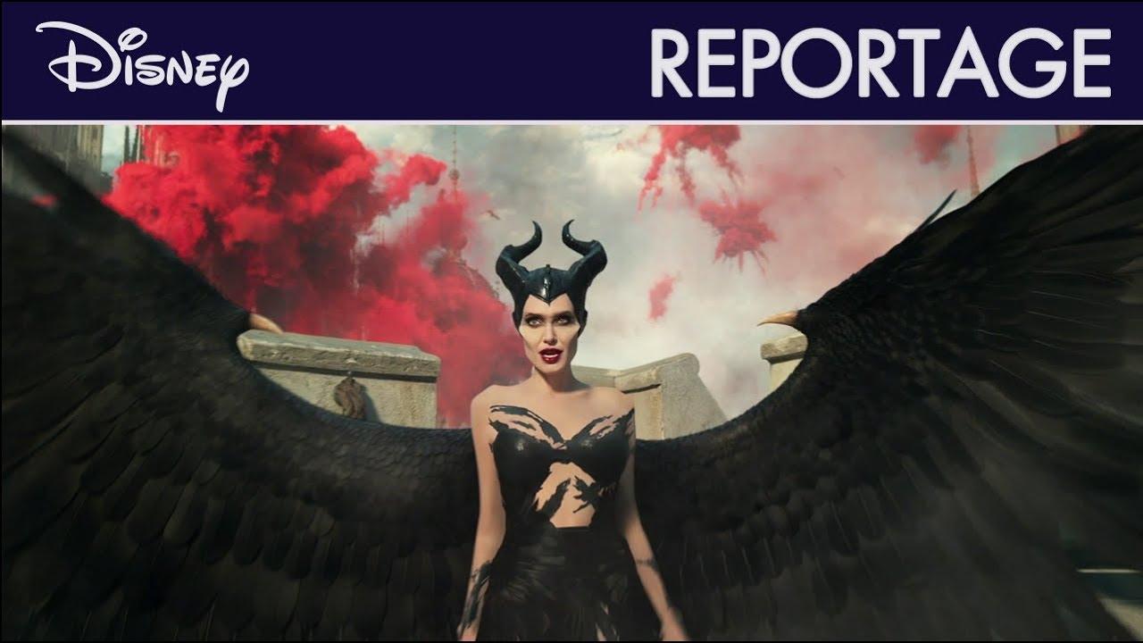 Maléfique : Le Pouvoir du Mal - Reportage : Le retour d'Angelina Jolie   Disney