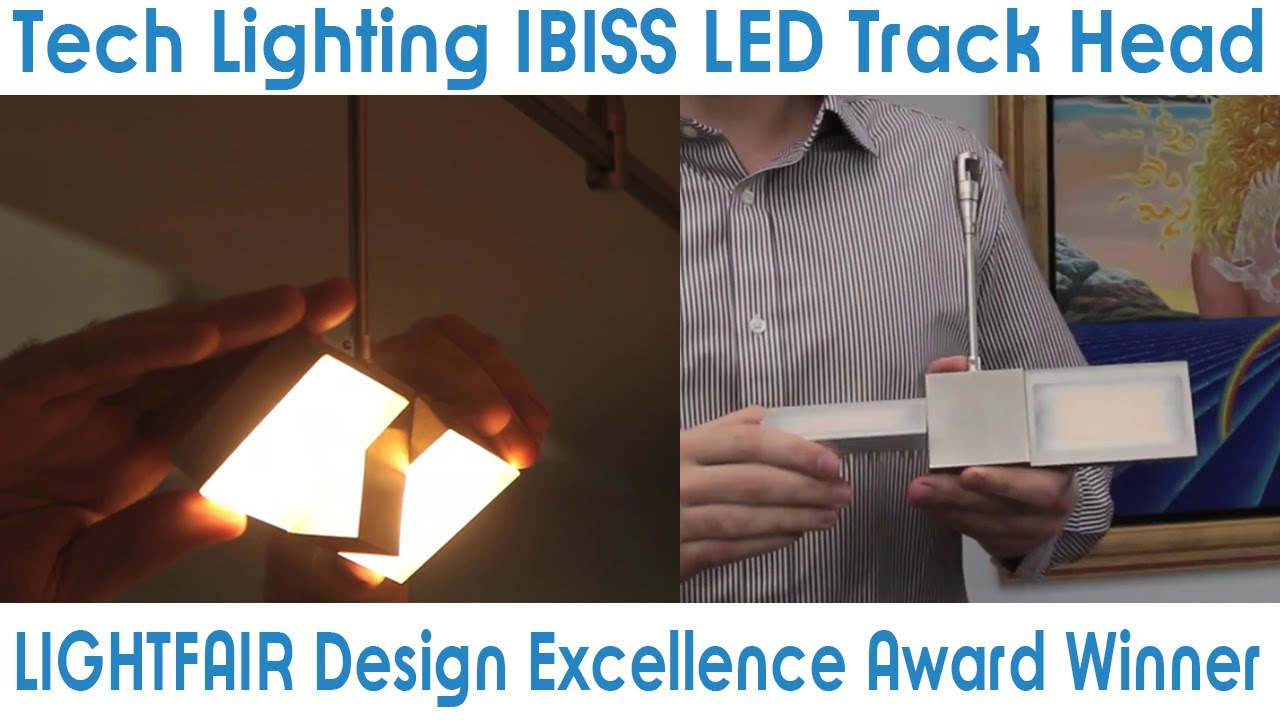 Goodmart Tech Lighting Ibiss Led Track Head Lightfair Design Excellence Award Winner