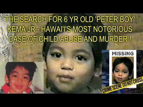 THE SEARCH FOR 6 YR OLD 'PETER BOY' KEMA...