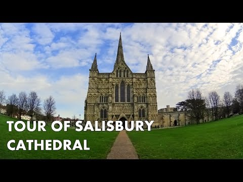SALISBURY CATHEDRAL - Amazing Behind The Scenes Tour