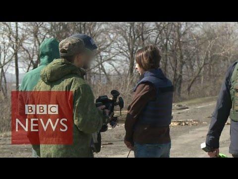Girl killed in Ukraine 'never existed' - BBC News