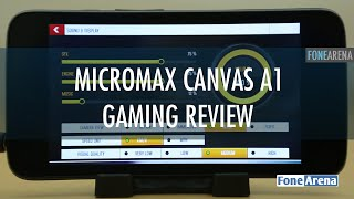 micromax canvas a1 gaming review