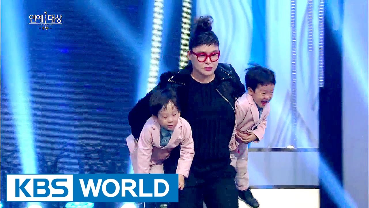 The twins makes their appearance on live stage [2016 KBS Entertainment Awards/2016.12.27]