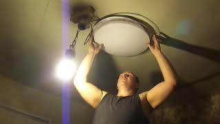Установка світлодіодного світильника (feron al5000)