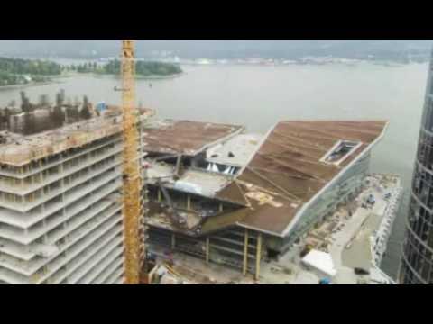 Vancouver Convention Centre Construction Time Lapse