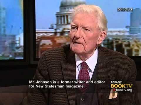 Book TV in London: Paul Johnson