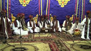 "Rajasthani Sufi music troupe at the ""Iftar"" Banquet , India House , 30 July 2012"
