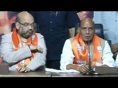 Rajnath Singh credits Modi for party's performance