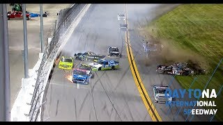 Rhodes Loses Lead After Getting Caught Up In Wreck