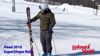 Repeat youtube video Head Rally Super Shape Ski Testw/ Jason 2016