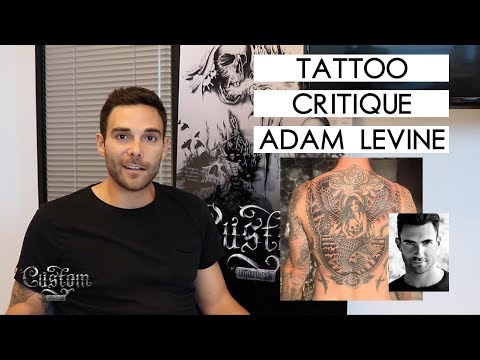 TATTOO CRITIQUE - Adam Levine