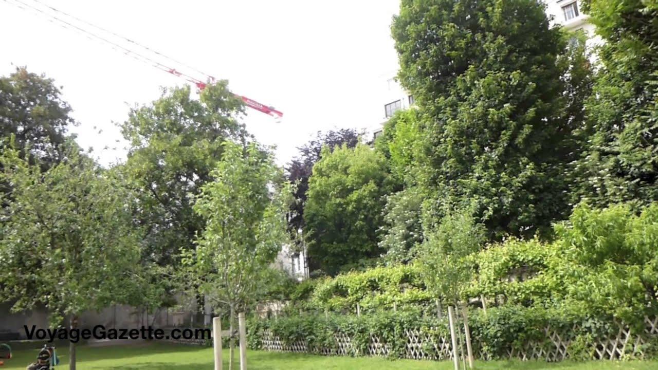 Jardin catherine laboure paris france youtube for Jardin catherine laboure